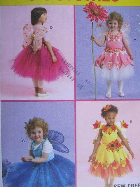 See Sally Sew-Patterns For Less - Children's Fairy Fairie Costume Stage Play McCall's 5950 Pattern Sz. 4 - 6, $12.00 (http://stores.seesallysew.com/childrens-fairy-fairie-costume-stage-play-mccalls-5950-pattern-sz-4-6/)