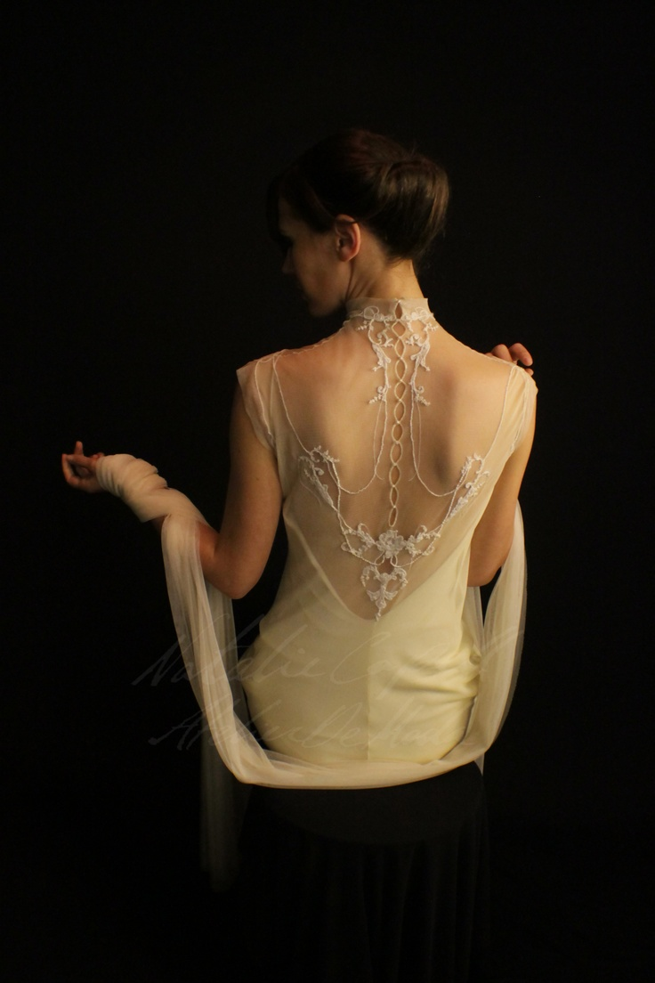 Believing each one of us is unique,   A wedding dress was created in the Atelier especially for you...