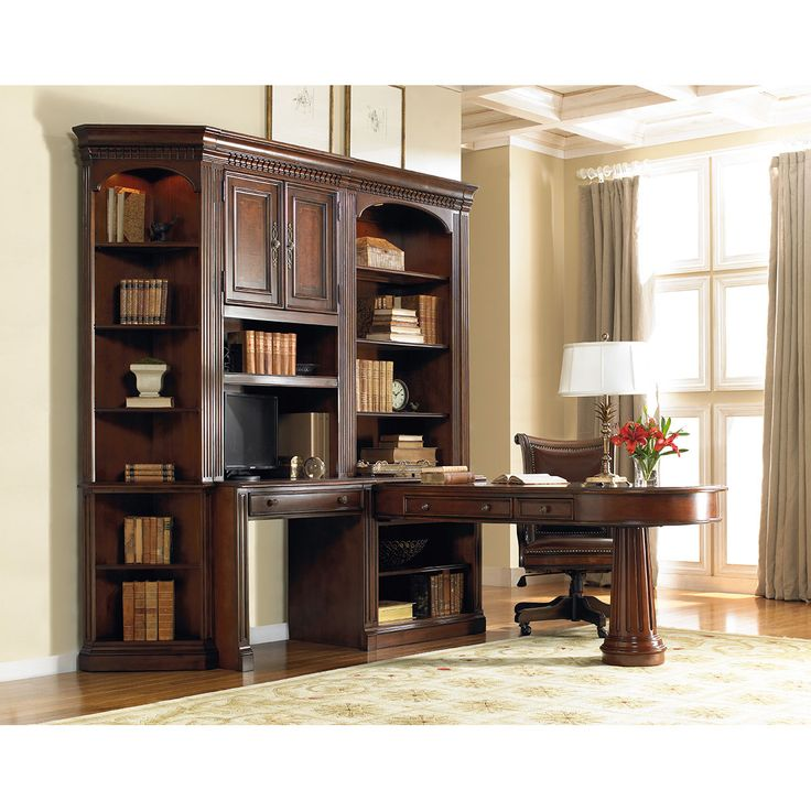 Hooker Furniture European Renaissance II Peninsula Desk Complete 374 10 424