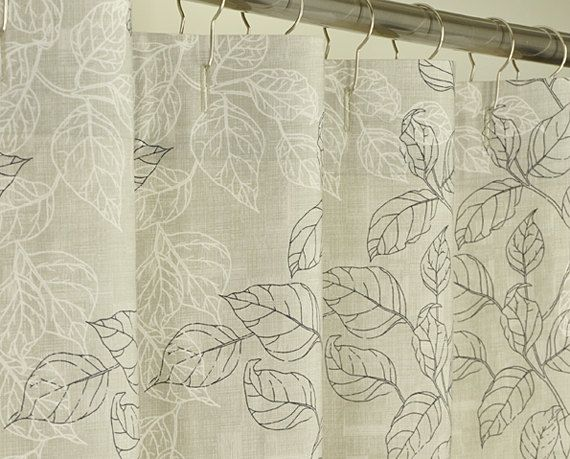 78 Inch Long Shower Curtain Fabric   Extra Long Taupe Shower Curtain 72 X  78 LONG