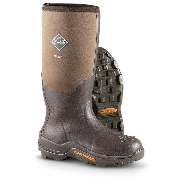 Men's Muck Boot Company® Waterproof Wetland Rubber Hunting