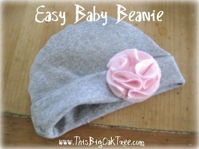 This Big Oak Tree: Easy Reversible Baby Beanie