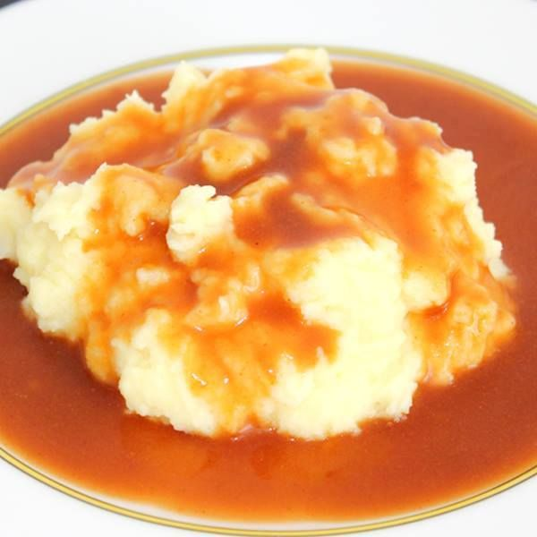Mashed Potatoes And Gravy Recipe