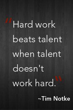 Talent essay