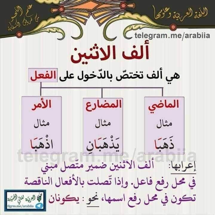 Pin By Mohammed Al Harbi On قواعد اللغة العربية Arabic Language Teach Arabic Language