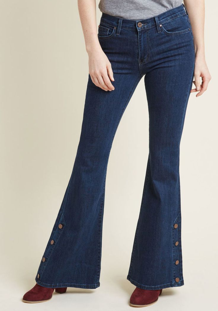 Faster and Fastener Jeans in 26 - Flare Denim Pant