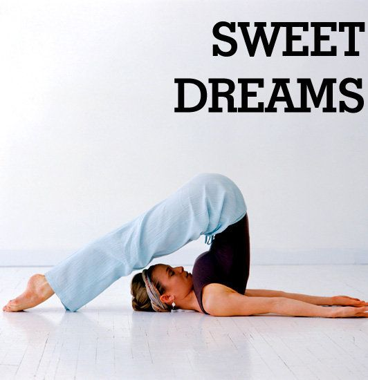 A yoga sequence for slumber