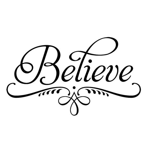 The Word Believe In Cursive Tattoo | www.imgkid.com - The ...