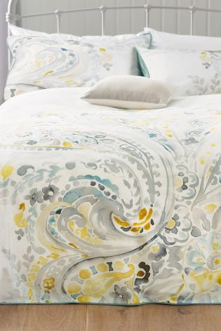 Buy Cotton Sateen Paisley Bed Set online today at Next: United States of America