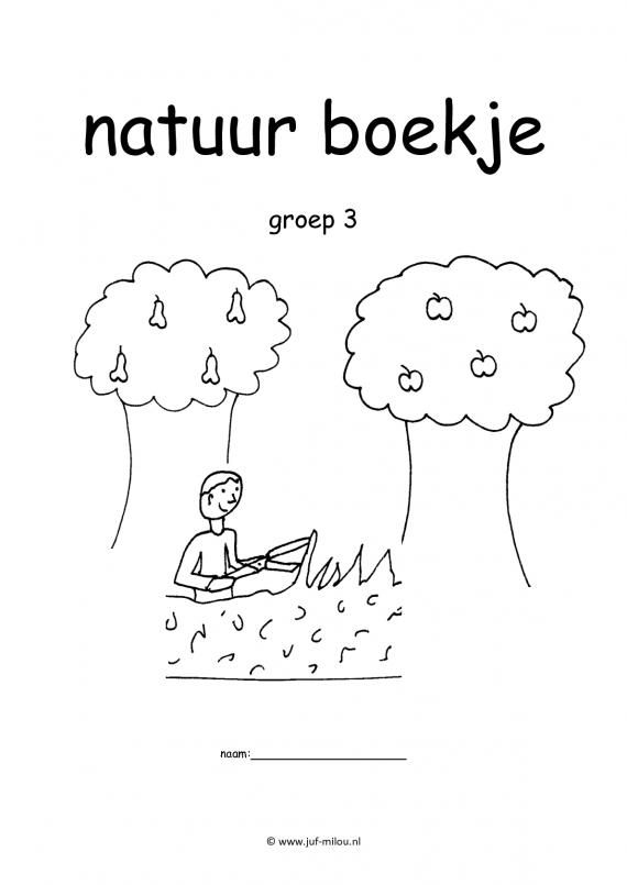 Werkboekje natuur