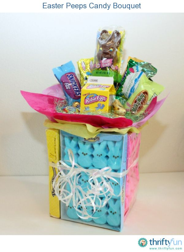 32 best images about easter baskets on pinterest easter ideas this easter candy bouquet is the perfect alternative to an easter basket for an older child negle Images