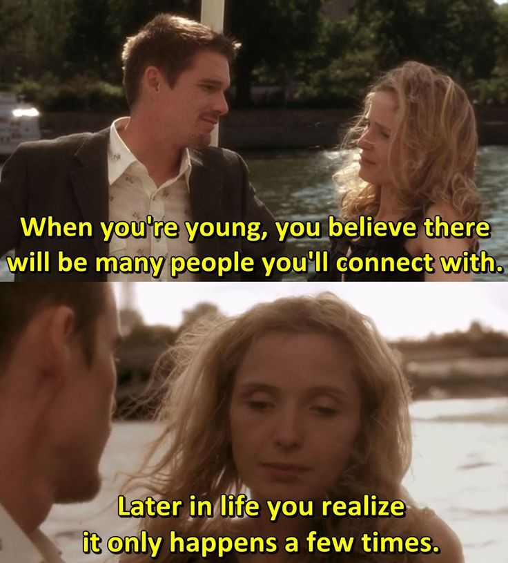 - Julie Delpy in Before Sunset (2004).