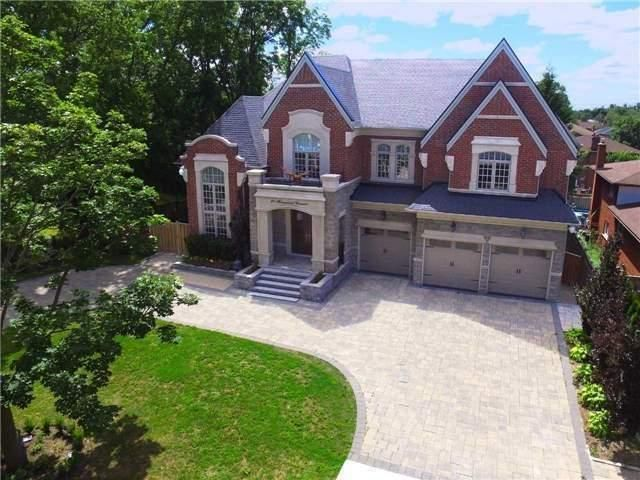 """LUXURY HOME: Prestigious * * """"South Richvale""""- Richmond Hill * * Yonge/ Hwy 7 * * Custom Built 2014 * * 6033 Sq.Ft. + Fin. Lower Level! 5+2 Bed, 8 Wash!~ 3 Car Garage!~ Circular Driveway! Stone And Brick!~ Veranda!~ Cathedral Living Rm & Cathedral Family Rm!~ Hardwood Flrs Thru-Out!~ Granite Counter Tops !~ Stainless Steel Appliances! ~ Interlocked!"""