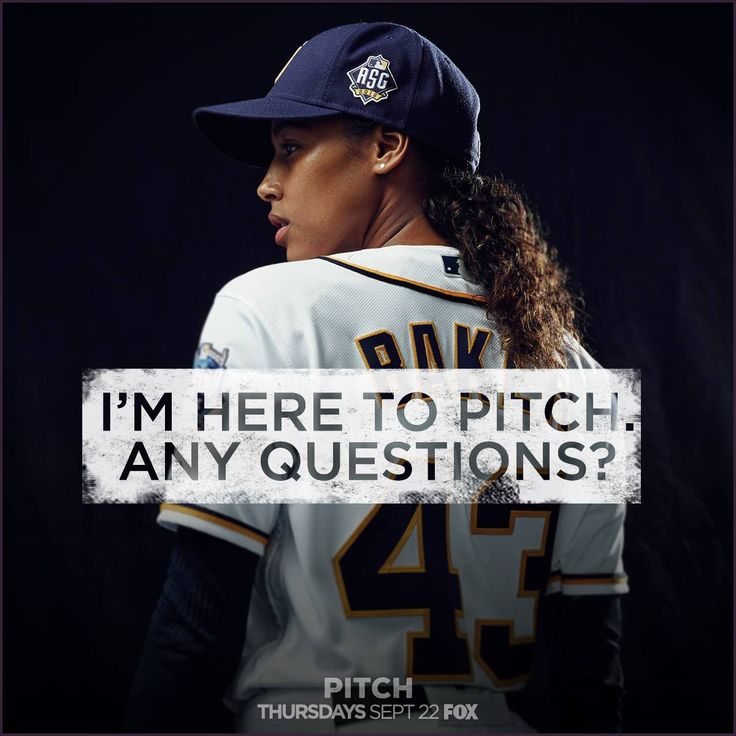 Can a FOX tv show #Pitch be a game changer for girls in baseball?
