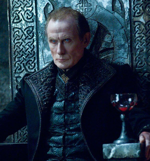 Viktor - played by one of my top 10 favorite actors Bill Nighy in Underworld, Viktor is the ideal vampire lord.