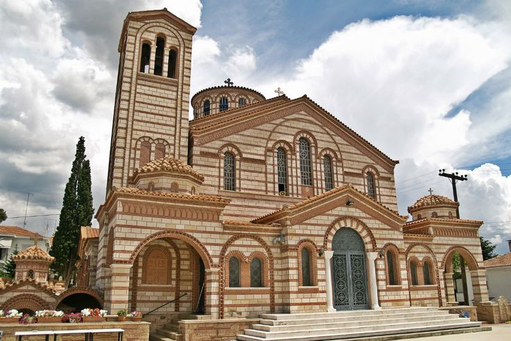 Agios Georgios Church. (Walking Thessaloniki, Route 22 - Panorama)