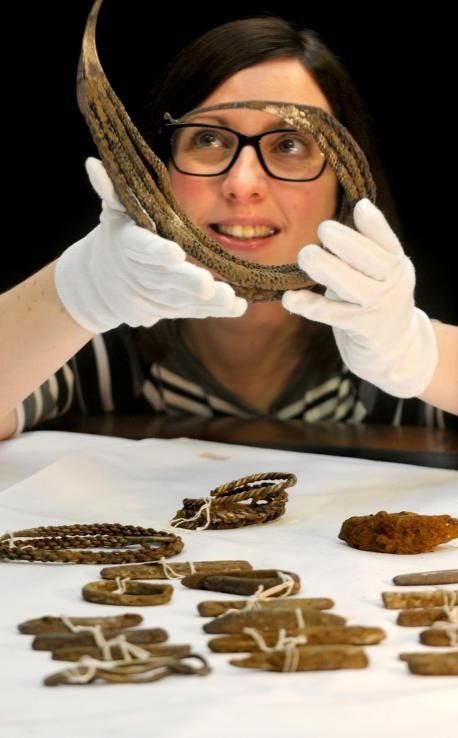 The Bedale treasure hoard unearthed from a Yorkshire field may once have been a wealthy Viking's life savings. The full hoard consists of a gold sword pommel, a unique silver neck ring and neck collar, a silver armlet, 29 silver ingots, two other silver neck rings, gold rivets and half a silver brooch. Archaeologists believe the objects are more than 1,000-years-old and were buried for safe-keeping by a wealthy Viking who for some reason never returned to his hidden hoard.