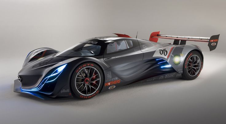Coolest concept car ever? yes. Mazda Furai.