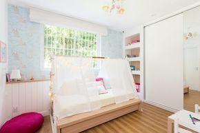 Quarto com cama cabana – #Cabana #cama #montessori…