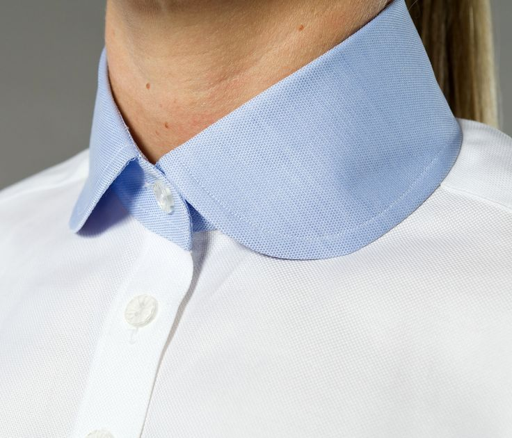 Preppy All Day Women's Business Shirt | Designed by The Shirt Muse