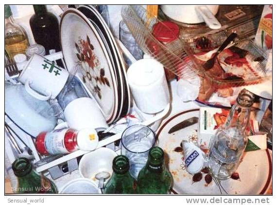Kitchen Still Life Postcard / Wolfgang Tillmans Photographer