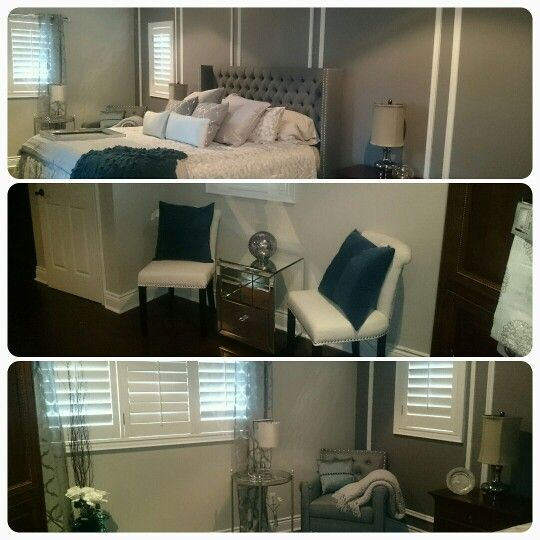 Surprise bedroom reno #handymanworx