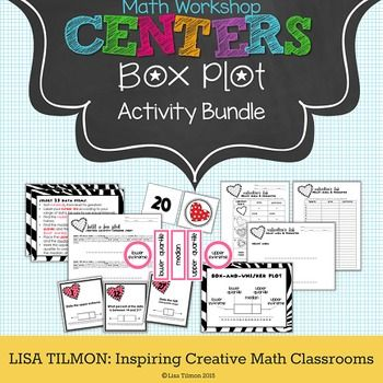 (CCSS: 6.SP.B.4, 6.SP.B.5c, 7.G.B.4, HSS-ID.A.1) This statistics activity bundle focuses on creating and interpreting box-and-whisker plots. Students will identify elements of box plots, display a set of data in a box plot, and use prior knowledge of composite area and perimeter to gather data for a box plot comparison.