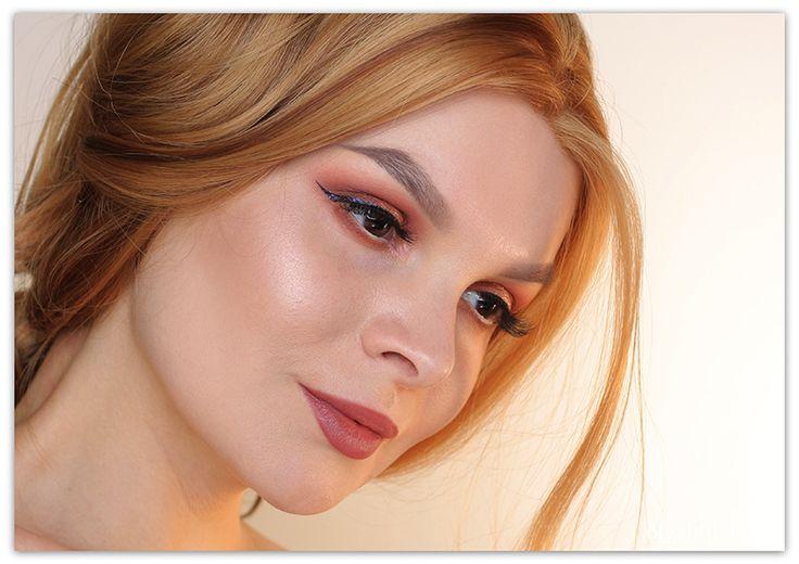 Olga Blik | Мерцающие тени для век Holika Holika: пошаговый макияж | https://olgablik.com