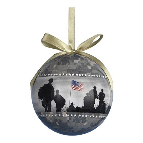USA Army US Military Camouflage Decoupage Christmas Tree Ornament * Click image to review more details.