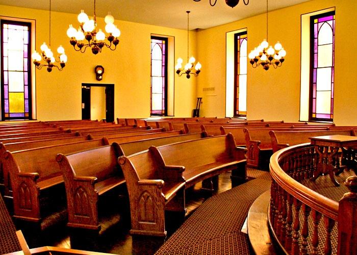 Mount Pleasant Meeting House Interior