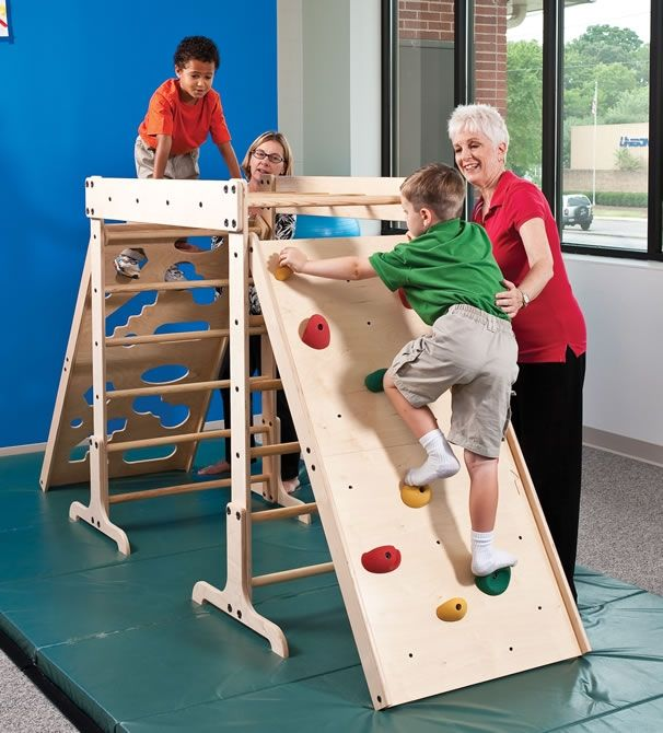 Rock Wall for Jungle Gym - Get the lowest prices and greatest selection on Climbing Products at Autism-Products.com
