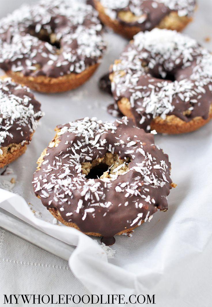 Almond Joy Donuts