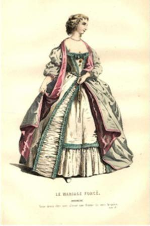En esta época se destacan las fabricaciones de hermosos brocados, terciopelos y sedas en la ciudad de Lyon y de tafetanes espesos en la ciudad de Tours, industrias que fomento Enrique IV.