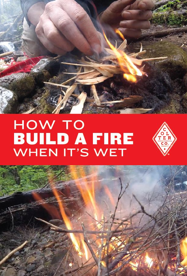 Great, detailed video about getting a fire going under wet conditions. This video also covers flint and steel, ferro rod and char cloth basics. Great instruction for any outdoor enthusiast, hiker, backpacker, hunter, boy scout, girl scout, doomsday prepper, fisherman or causal camper. Find more outdoor skills and gear here: https://www.coltercousa.com