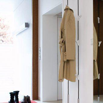 garderobe wardrope schwarz verchromt matt bad pinterest schr nke. Black Bedroom Furniture Sets. Home Design Ideas