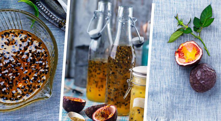 » Passionsfruktssirap – recept – Allt om Mat