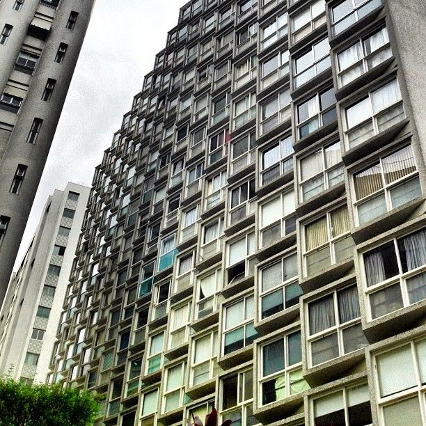#Residential #building in #Jardims #SaoPaulo #Brazil #Brasil #architecture #archdaily #instagood #iphonesia