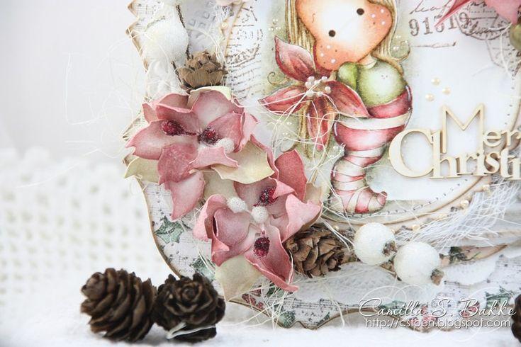 Скрапбукинг, рукоделие, МК Цветы из фоамирана