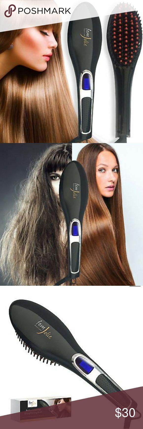 Farouk turbo inch ceramic flat iron p 46 - Gem Jolie Hair Straightening Brush Boutique
