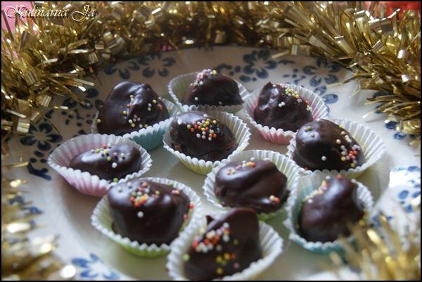 Kulinarna Ja: Rumowe śliwki w czekoladzie