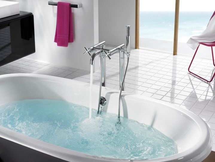 """Mélangeur pour bain-douche sur colonnes """"Roca LOFT"""""""