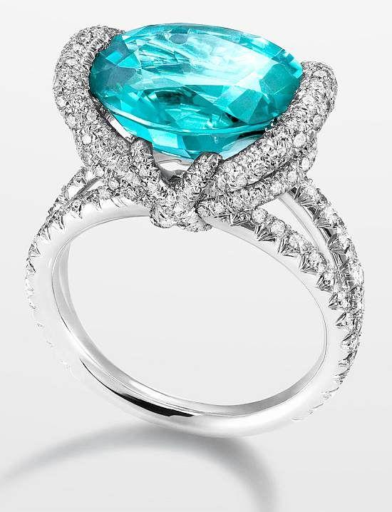 WEB LUXO - ALTA JOALHERIA: Joalheria francesa lança anel com pedra brasileira