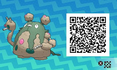 Garbodor PLEASE FOLLOW ME FOR MORE DAILY NEWS ABOUT GAME POKÉMON SUN AND MOON. SIGA PARA MAIS NOVIDADES DIÁRIAS SOBRE O GAME POKÉMON SUN AND MOON. Game qr code Sun and moon código qr sol e lua Pokémon Nintendo jogos 3ds games gamingposts caulofduty gaming gamer relatable Pokémon Go Pokemon XY Pokémon Oras