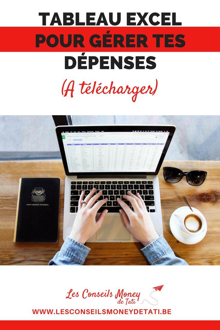 Gère tes dépenses mensuelles avec ce tableau Excel - www.lesconseilsmoneydetati.be