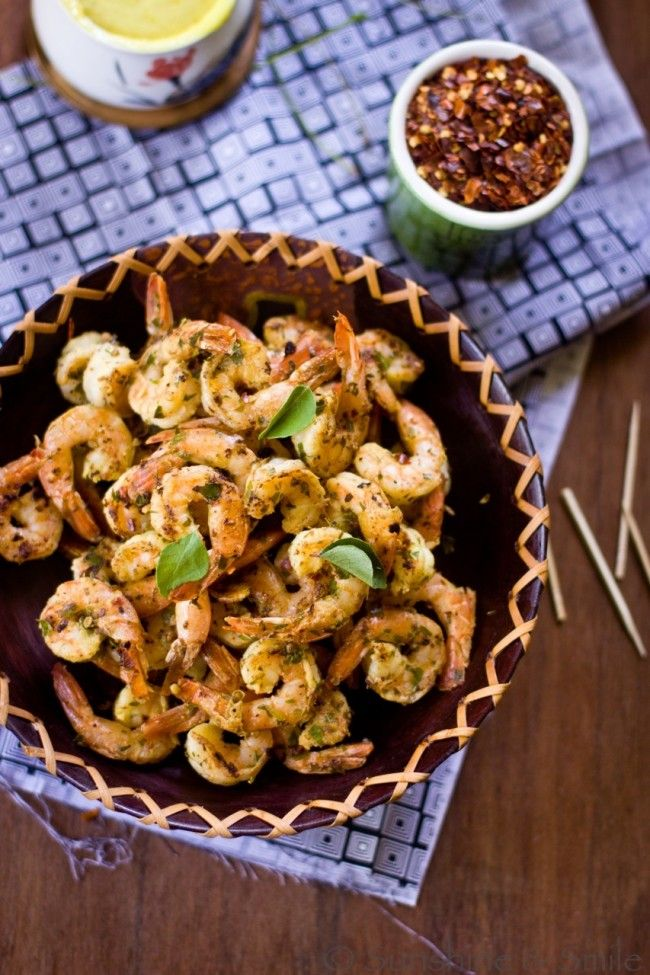 Stir Fried Shrimp with Lemon Aioli