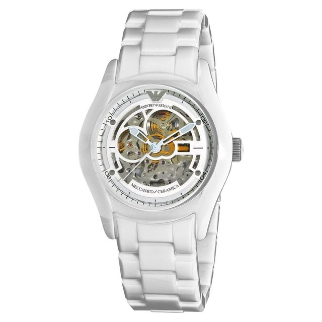 Armani Skeleton watch