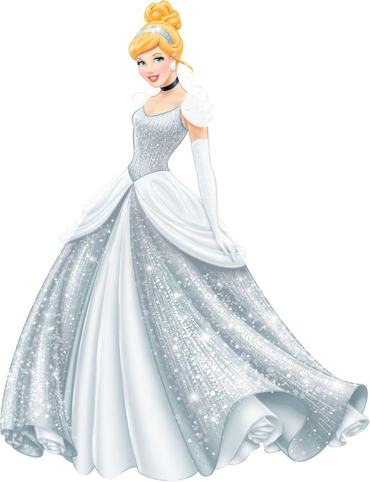 Disney Princess Sparkle CINDERELLA (1950) ~ re-colored to match original dress