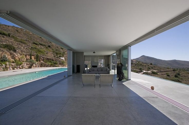 Private residence in Aegina, Greece by Konstantinos Kontos Architecture