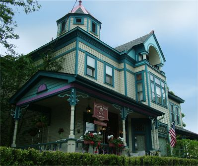 """Harrison House Bed and Breakfast in Harrison West Columbus Ohio. Haunted by four friendly ghosts and one """"living"""" Bed and Breakfast owner, Lynn."""