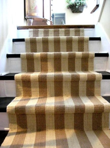 When it's time to replace our current sisal runner to the basement - stripes?